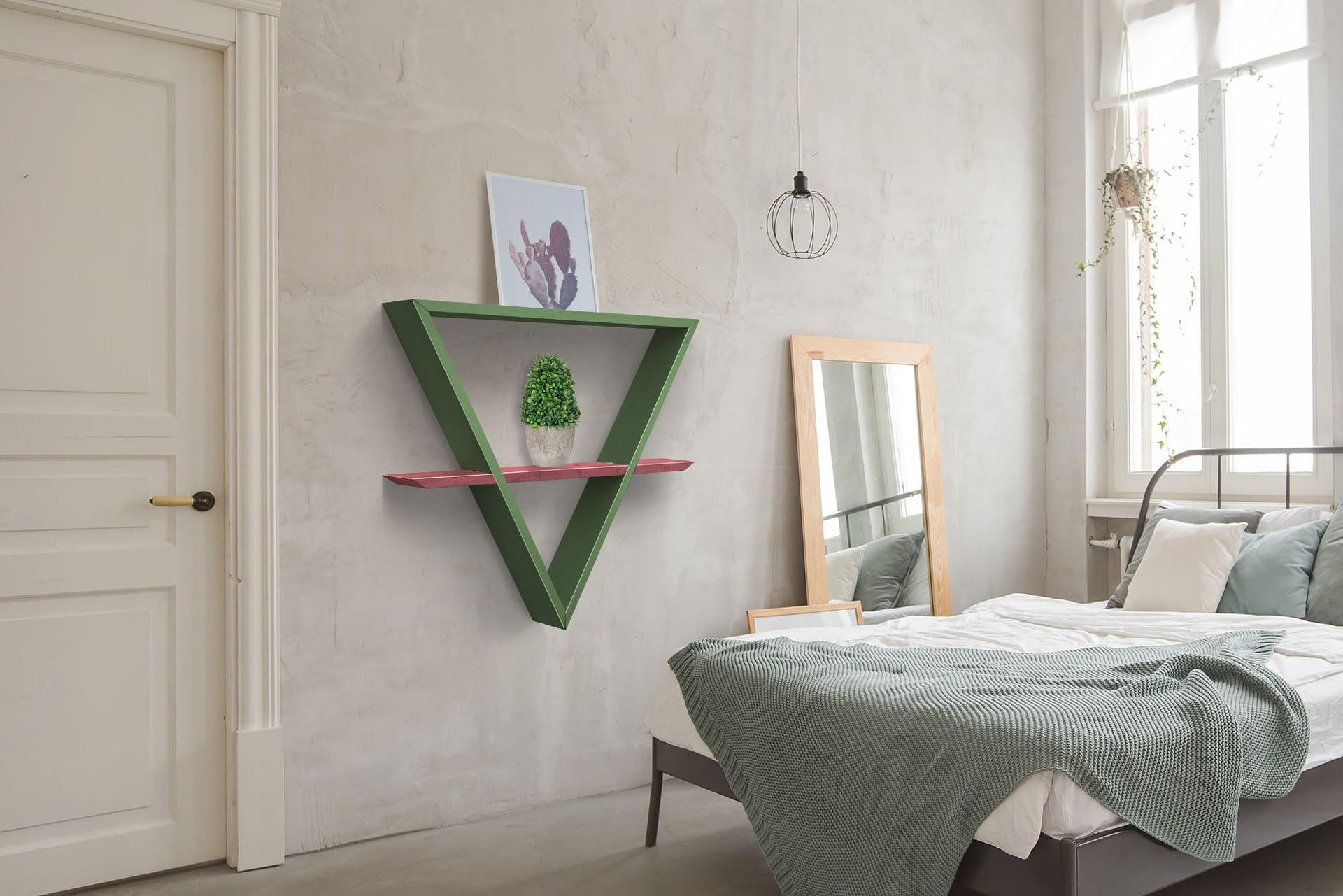 daichi ambiente camera verde salvia rosa antico